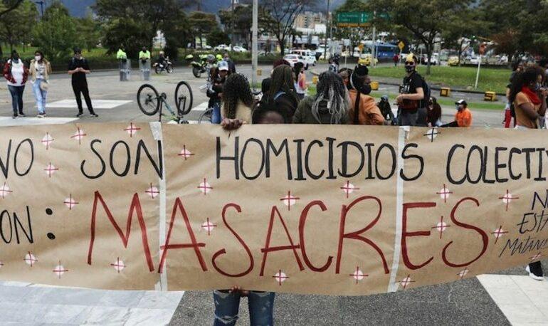 Lideresa social y 7 personas más son masacradas en Antioquia
