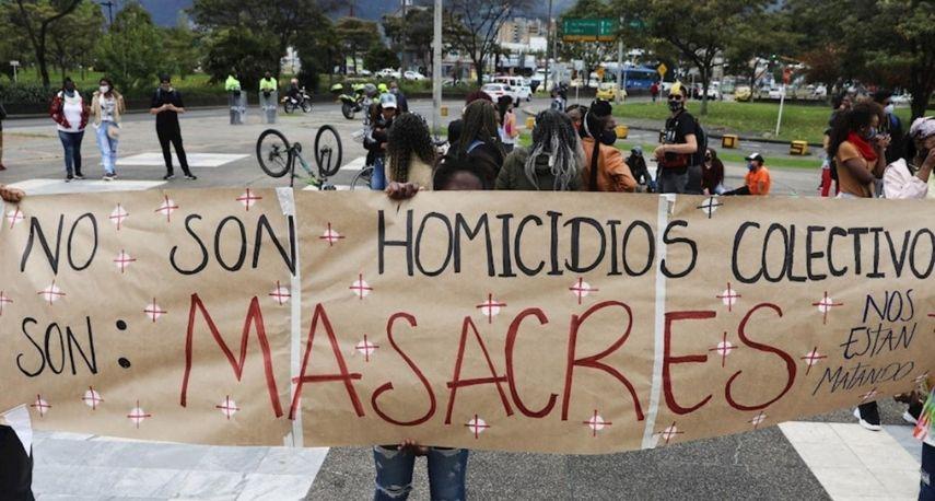 Se registran dos masacres en menos de 12 horas en Cauca y Antioquia
