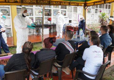 UBPD recuperó 24 cuerpos en acción humanitaria en Caldas