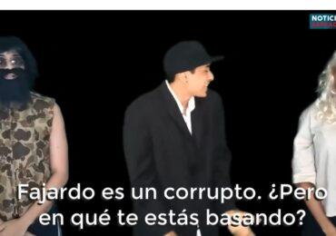 Se hace viral video que critica a Sergio Fajardo