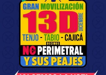 Perimetral de la sabana: Riesgos ambientales, sociales y económicos para habitantes de la sabana de Bogotá