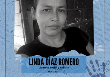 Asesinan a Linda Diaz, lideresa de la Asociación de Campesinos de San Roque