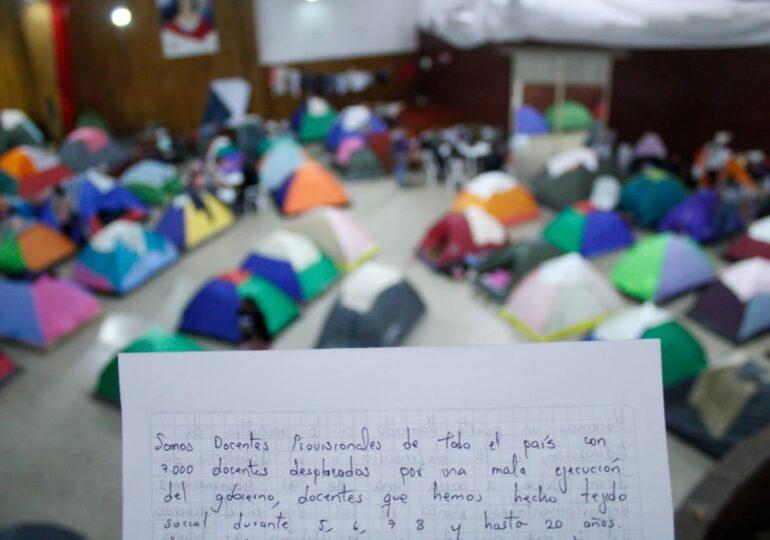Mas de 7000 docentes provisionales de zonas de conflicto perderían sus puestos