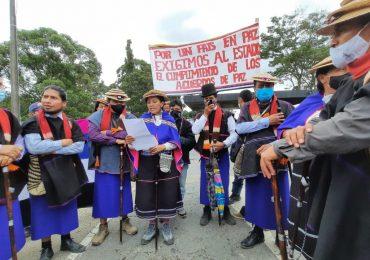 Indígenas Misak 'destapan peajes, para destapar la corrupción'