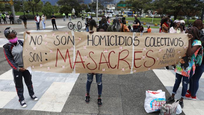 Masacre en Circasia, Quindío. 25 masacres en el 2021