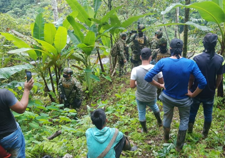 ONIC rechaza militarización del resguardo Nasa Emberá Chamí en Valle del Cauca
