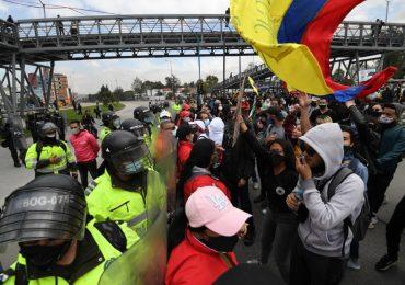 Balance de violencia policial en primera jornada de Paro Nacional