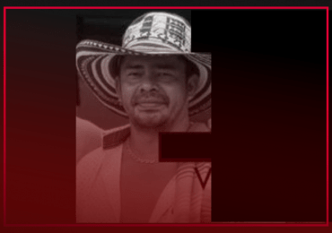 Wilson López: líder de El Congal asesinado en Aguadas