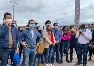 Concejo de Bogotá sesionó en Portal Resistencia