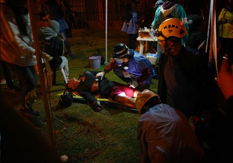 Denuncian al menos 110 heridos en dos noches de represión en Portal Resistencia