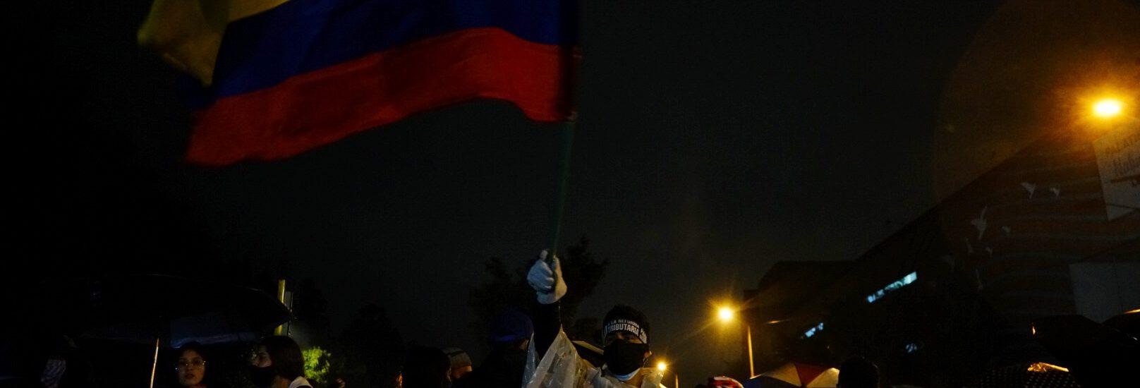 Bogotá: noche violenta en el Portal de las Américas