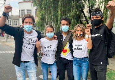 Artistas respaldan el Paro Nacional en Colombia