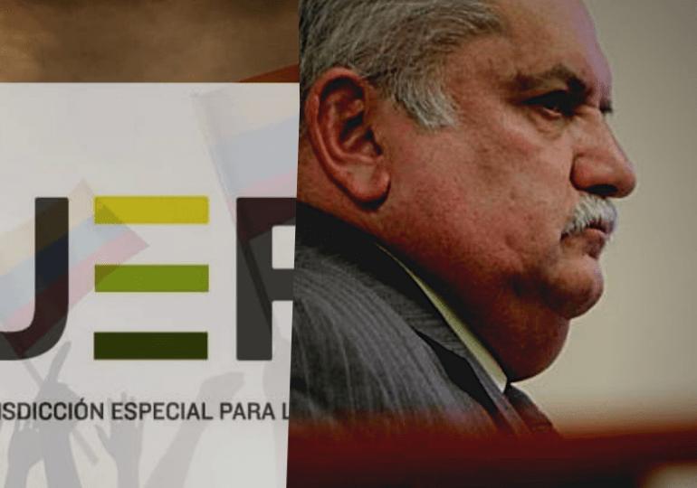 Cero y van tres, Rito Alejo del Río, niega sus vínculos con el paramilitarismo ante la JEP