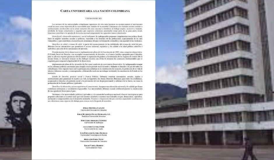 Rectores de siete universidades se pronuncian sobre Paro Nacional