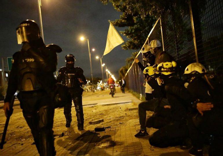 Noche de terror en Suba por represión policial