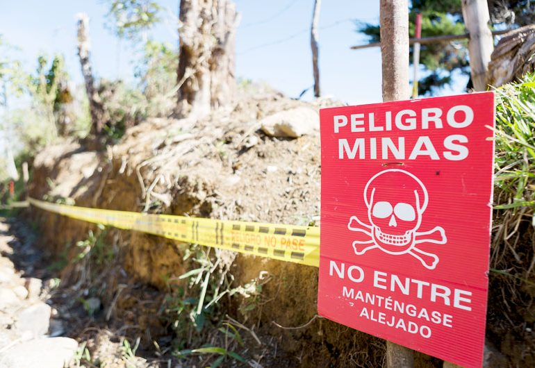 Minas antipersona causan muerte de la lideresa Embera Remilda Benítez Domicó