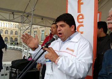 Nelson Alarcón, vocero de Fecode salió del país por amenazas de muerte