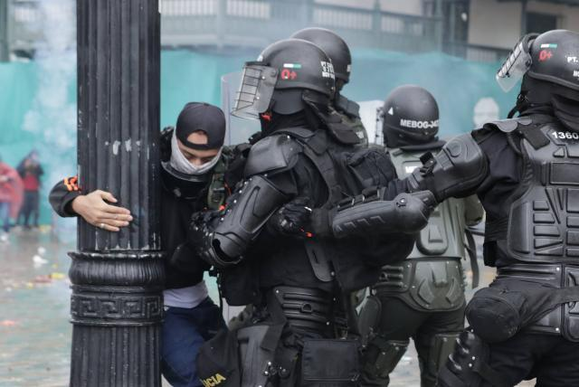 Organizaciones de DDHH documentaron 128 agresiones de la policía este 20 de Julio