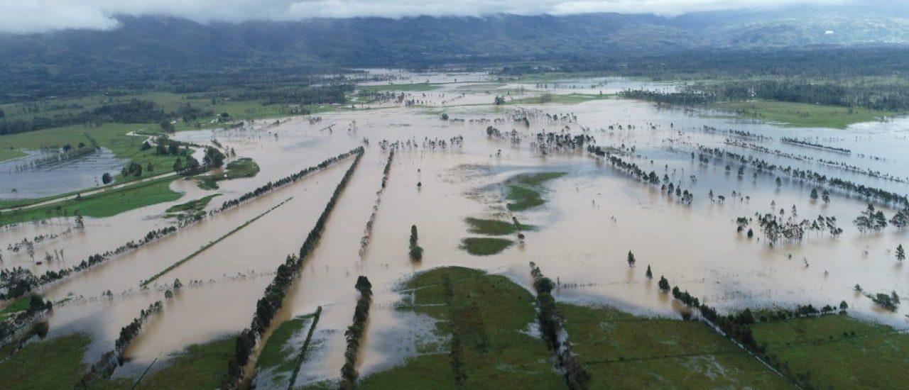Pueblos indígenas del Valle de Sibundoy en emergencia por desbordamiento de ríos
