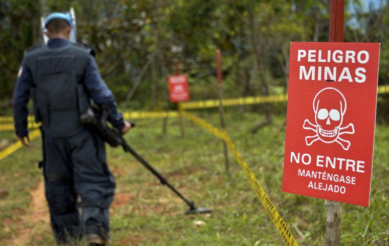 Diego Bailarín, nueva victima de minas antipersona en Antioquía