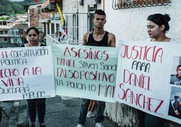 Policía y civiles armados amenazan a la Familia de Daniel Stiven Sánchez