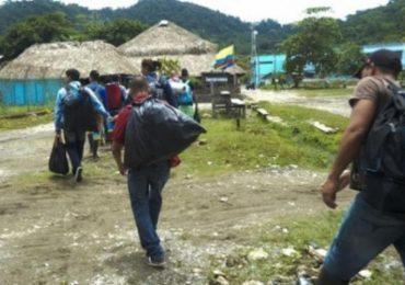 Nuevo desplazamiento masivo se produjo en el Sur de Bolívar