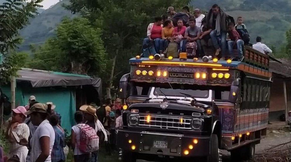 Sin garantías para permanecer en la tierra 800 familias de Ituango regresaron a sus veredas