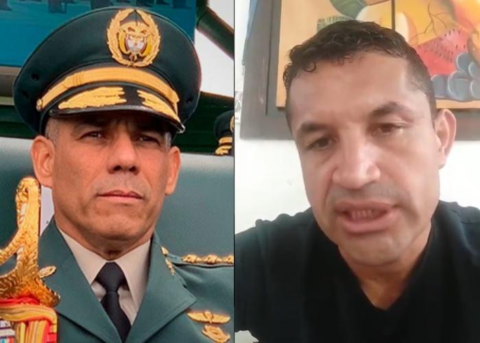 Sargento Alexander Chala recibe amenazas por denuncias en contra de altos mandos militares