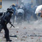 Denuncian ráfagas de disparos en contra de manifestantes en Usme