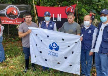 Así fue la liberación de dos soldados en Arauca por parte del ELN