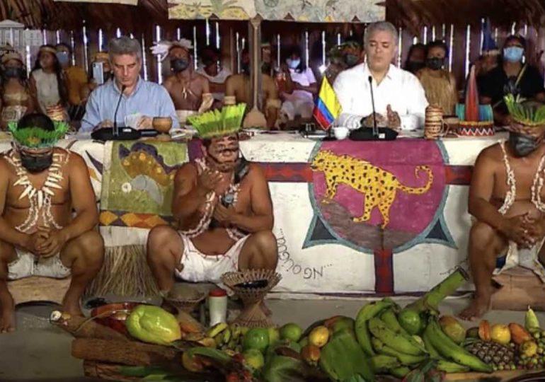 Duque contrató a operador turístico en Amazonía y no incluyó autoridades indígenas en lanzamiento de la PreCOP