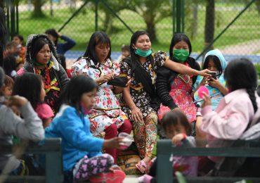 Indígenas Embera desplazados en Bogotá, con graves afecciones de salud y sin atención por parte de la Alcaldía