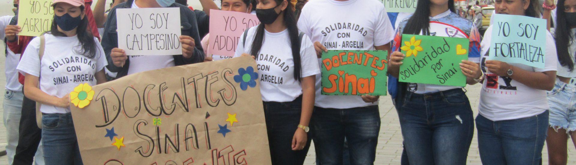 Argelia no existe para el gobierno: Líder social de Sinaí