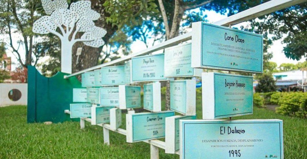 Parque de Memoria de la Gobernación del Meta no cumplió expectativas de víctimas