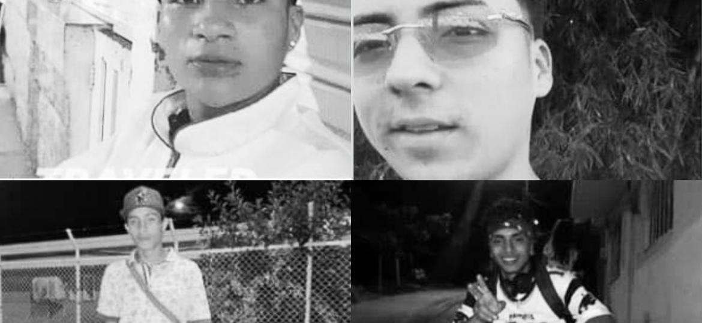 Masacre en Antioquia deja a cuatro jóvenes asesinados