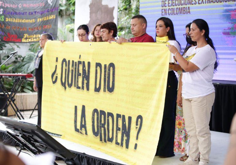 No son falsos ni positivos, son crímenes de Estado: víctima ejecuciones extrajudiciales
